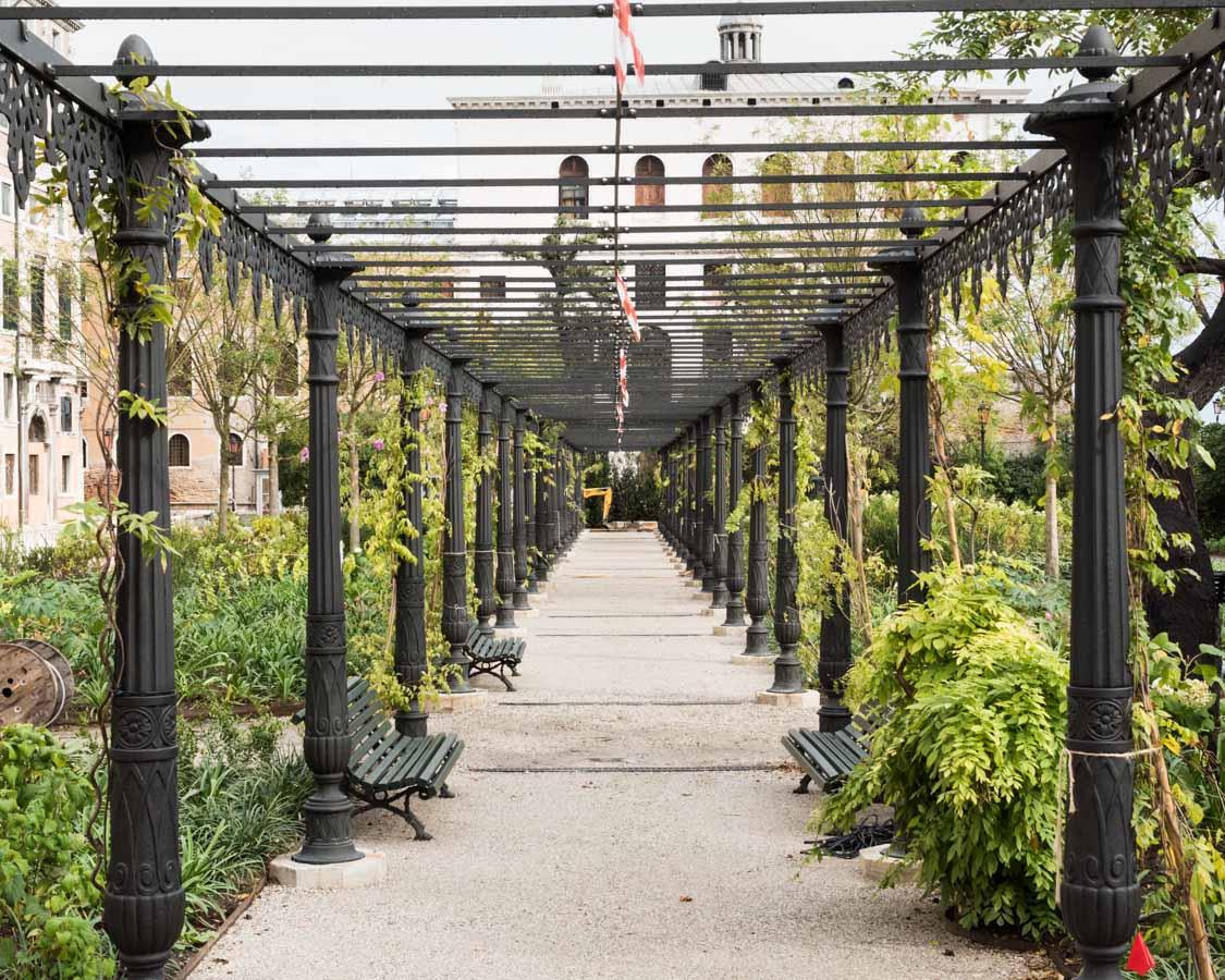 Jardines reales de Venecia